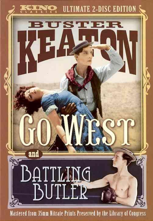 BATTLING BUTLER/GO WEST BY KEATON,BUSTER (DVD)